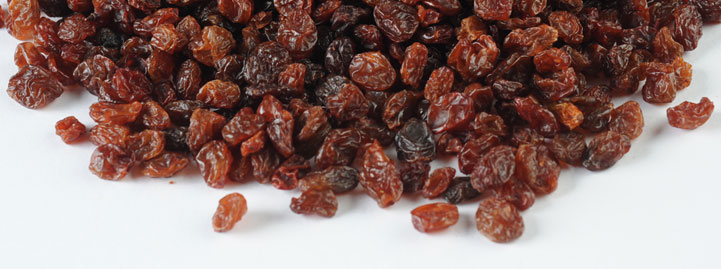 Sultana Raisin (Dark Brown & Sun Dried)