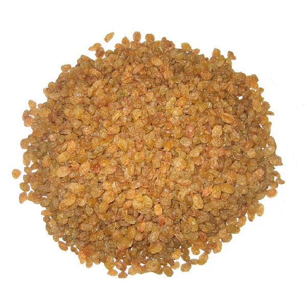 sultana light brown raisins